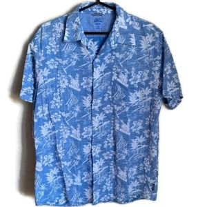 IZOD | RELAXED CLASSIC SHORT SLEEVE TROPICAL SHIRT